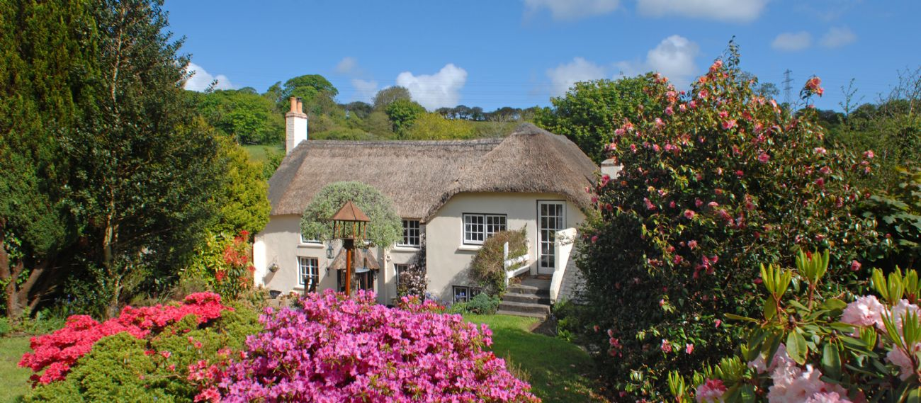 Serendipity luxury thatched cottage in Cornwall