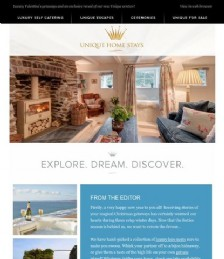 Valentine´s getaways and an exclusive reveal of our new Unique venture