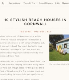 10 Stylish Beach Houses In Cornwall