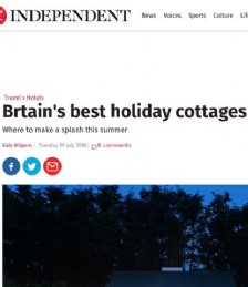 Britain´s Best Holiday Cottages With Pools