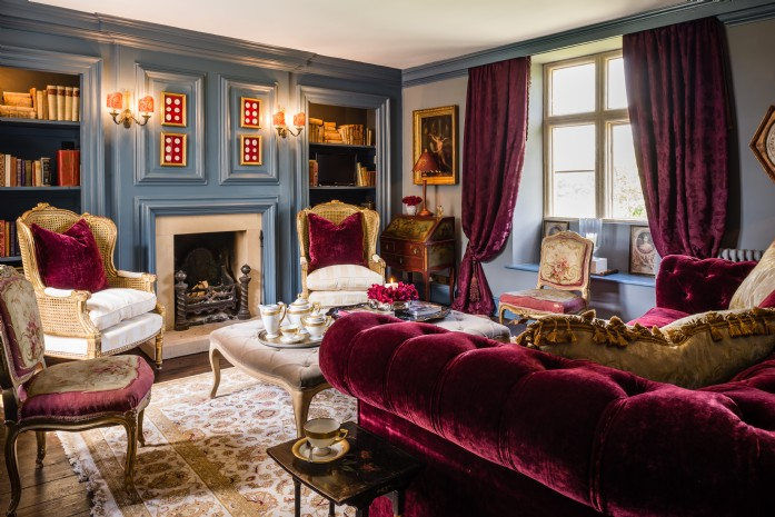 Designed as a dower house for Brockhampton Park's Lady of The Manor, this luxury Cotswolds cottage is stuffed to the beams with opulence. The interiors were ...