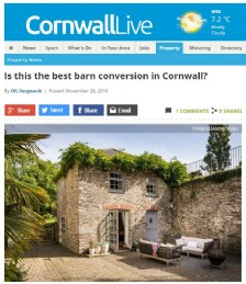 The Best Barn Conversion in Cornwall