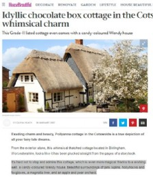 Idyllic Chocolate Box Cottage in the Cotswolds full of Whimsical Charm