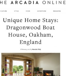 Unique Home Stays: Dragonwood Boat House, Oakham, England