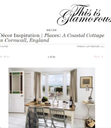 Décor Inspiration | Places: A Coastal Cottage in Cornwall