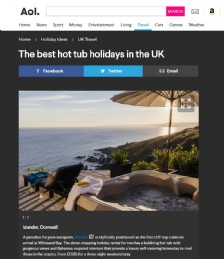The Best Hot Tub Holidays in the UK