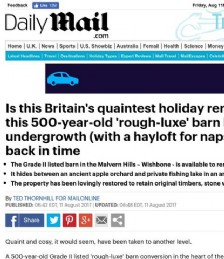 Is this Britain´s Quaintest Holiday Rental?