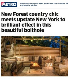 New Forest Country Chic Meets Upstate New York to Brilliant Effect in this Beautiful Bolthole