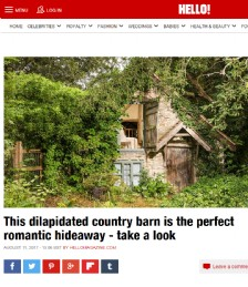 This Dilapidated Country Barn is the Perfect Romantic Hideaway - Take a Look