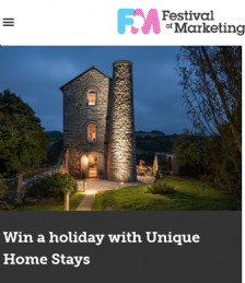 Festival City - Win a Holiday with Unique Home Stays