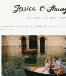 Laura & Alan´s Cotswold Elopement at The Lost Orangery