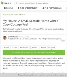 My Houzz: A Small Seaside Home with a Cosy Cottage Feel