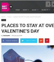 Places to stay over Valentine´s Day
