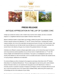 ANTIQUE APPRECIATION IN THE LAP OF CLASSIC CHIC