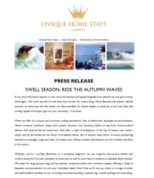 SWELL SEASON: RIDE THE AUTUMN WAVES