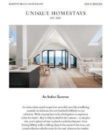 New Property Arrivals - Villa Boden and The Old Beach Stores