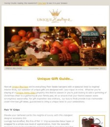 Unique Gift Guide