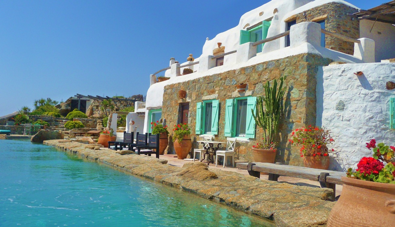 Luxury Self Catering Villa With Pool Mykonos Luxury Self Catering Villa In Mykonos With Pool