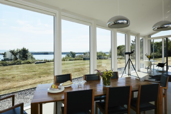 Image result for Feasting Table Set Up For A Sea Facing Home