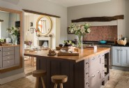 The large country kitchen, perfect for budding chefs and family dinners