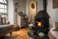 Cosy up by the fire and prepare for majestic sunsets and dramatic storms