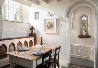 Luxury self-catering chapel Boscastle