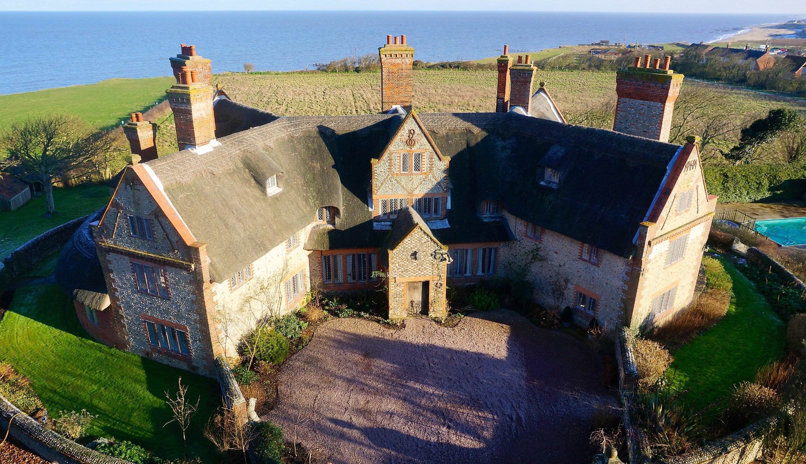 Phenomenal August House Luxury Self Catering Manor Happisburgh Norfolk Download Free Architecture Designs Embacsunscenecom