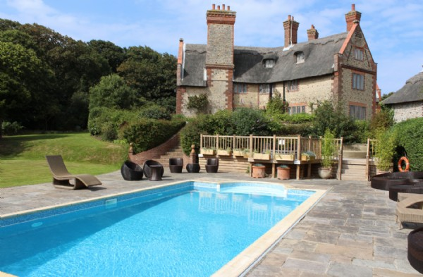 Norfolk Coast Luxury Self Catering Manor With Swimming Pool