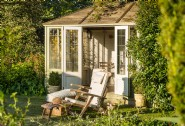 Summerhouse sitting pretty in the grounds