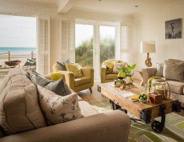 Luxury self-catering beach house east sussex