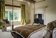 The master bedroom with en suite