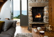 Lounge by the fire on crisp winter days