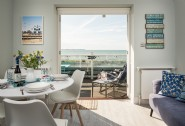 Breath-taking views of the sea from the living area