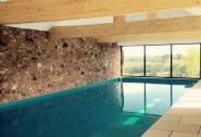 Self-catering in Somerset with spring-fed indoor heated swimming pool