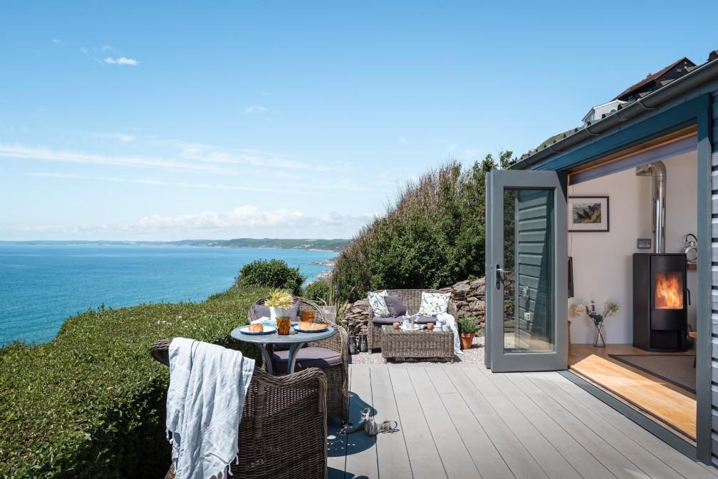 Breakers | Luxury Self-Catering Beach Hut | Whitsand Bay, Cornwall