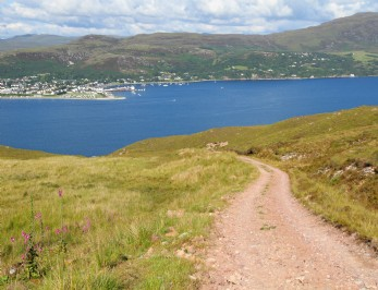 luxury self-catering Loch Broom in Scotland
