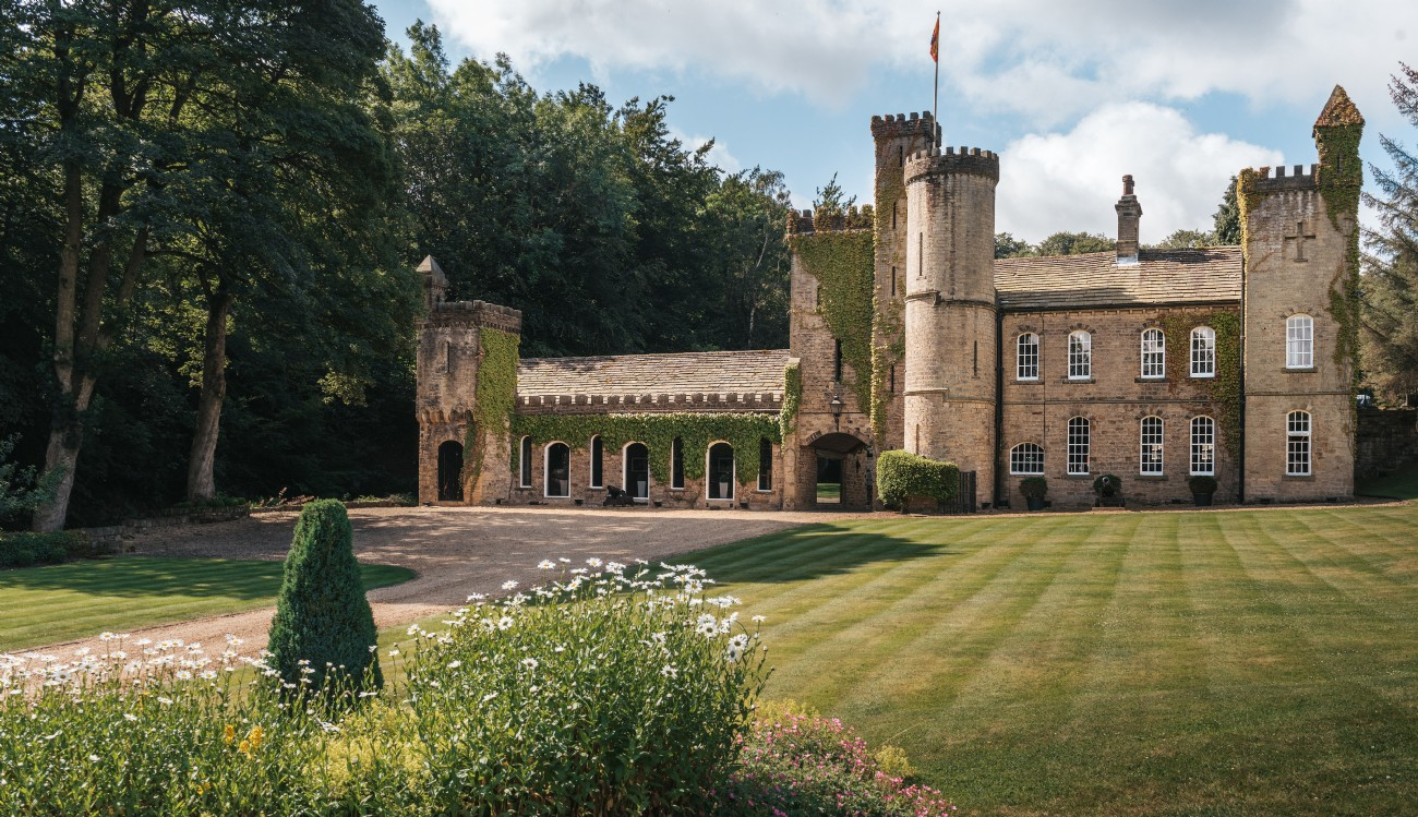 West Yorkshire luxury self-catering castle, Castle Trinity