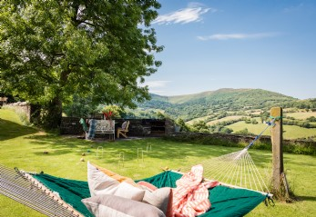 Luxury homestay in the Black Mountains on the England-Wales border