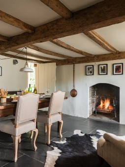 luxury self-catering cottage in Devon