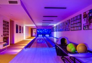 Hit a strike in the bowling alley during your luxurious stay