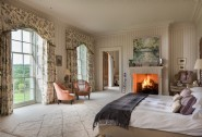 Recuperate with a blissful sleep in the master bedroom of this luxury home