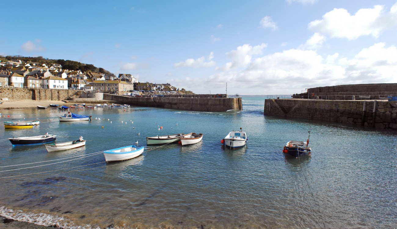 Mousehole luxury harbour-side cottage, Crabbers Nip, Cornwall