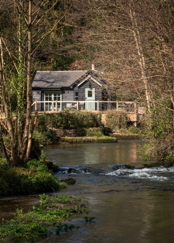 Damselfly luxury self-catering cottage in Cornwall