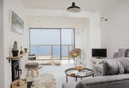 Enjoy calming coastal views from all the living spaces