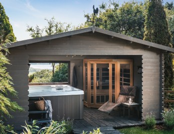 North Wales luxury self-catering cabin