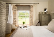 Luxury king sized bedroom at Eirianfa, near Aberystwyth