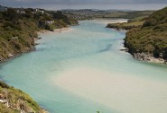 The River Gannel in Newquay