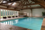 Flaunting an indoor swimming pool, Ellenglaze is a luxury self-catering retreat