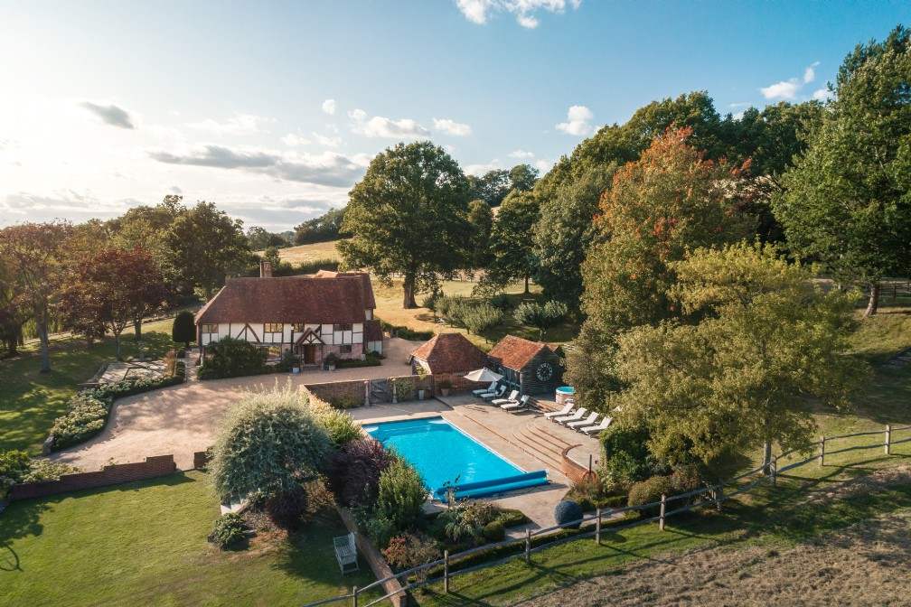 Ever After | Luxury Self-Catering Home with Pool | High Weald, Kent