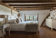 Romantic neutral palettes of peaceful whites guarantee a blissful sleep